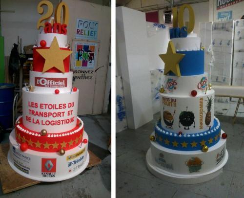Gâteaux géants